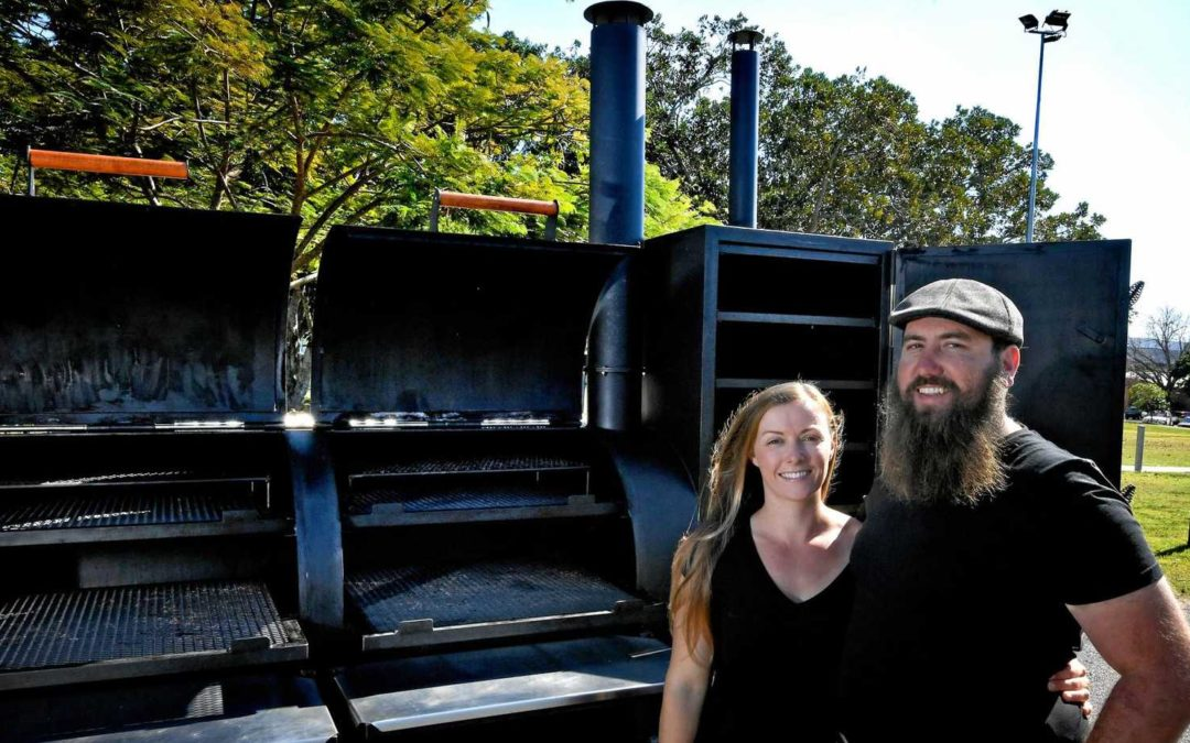 Smoked BBQ with beer and Beauty & the Beard Eats & Events